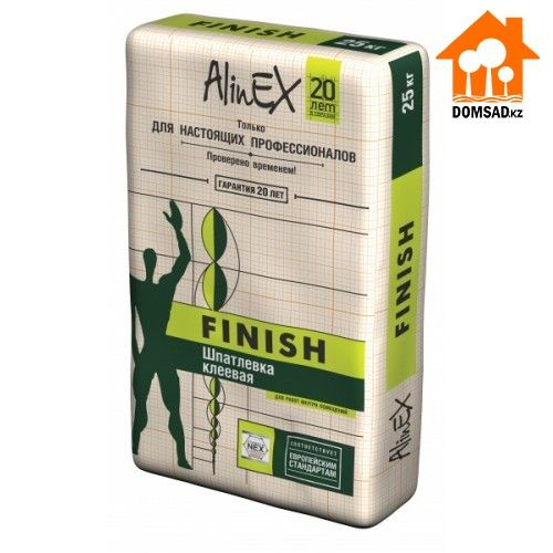Шпатлевка AlinEX FINISH, 5кг